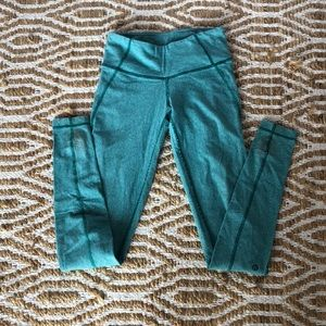 Lululemon leggings turquoise